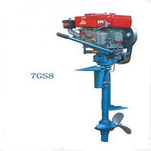 Electric Start 6 hp Petrol Marine Outboard Propeller