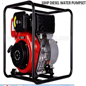 Diesel High Pressure water pump set 10hp 4' 3600 RPM