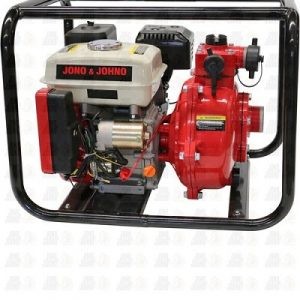 Electric Start Twin Impeller Water Fire Fighting Pump OHV Petrol 6.5 HP Engine