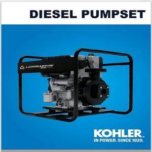 Lombardini Kohler 10hp Diesel Pumpset